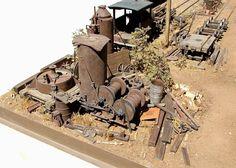 Chuck Doan | Model railroad diorama