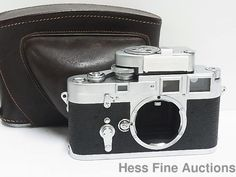 Summicron Leica Vintage Camera w Metrawatt and Case Camera No Reserve #Leica