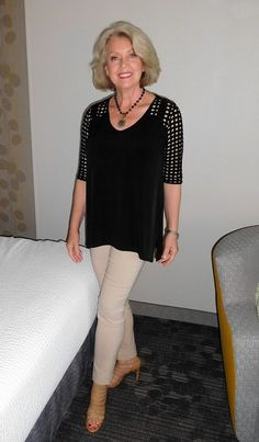 The top is by Clara Sunwoo and the pants are by Lior Paris. Both items were purchased at Shop My Fair Lady.