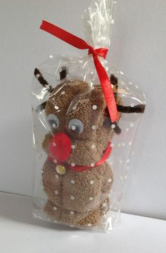 washcloth reindeer - Google Search