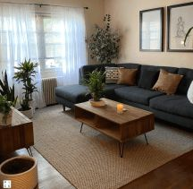 Small Apartment Living, Cozy Living Rooms, Home Living Room, Small Apartment Interior Design, Barn Living, Men's Apartment Decor, Living Room Brown, Modern Small Living Room, Small Living Room Designs