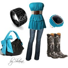 """""""Country Cutie"""" by shauna-rogers on Polyvore"""
