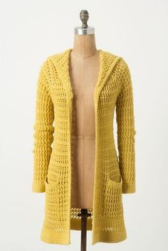 Onshore Breeze Cardi - this would be fun to crochet!!