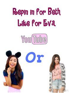 Love you Bethany and Eva!