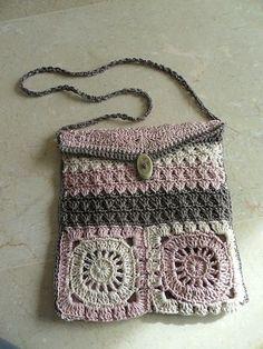 BOLSOS Y MOCHILAS PARA TEJER A CROCHET VARIOS MODELOS | Patrones Crochet, Manualidades y Reciclado
