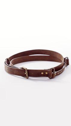 Leather double wrap waist belt #lurestore #leatherbelt #doublebelt #hippie #genuineleather Spring Summer 2015, Belt, My Style, Leather, Accessories, Jewelry, Belts, Jewlery, Jewerly