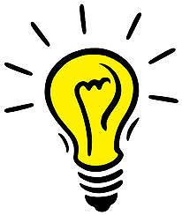 Light Bulb Clipart for Sale