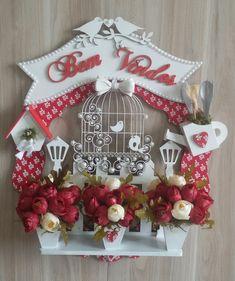 Painted Furniture, Advent Calendar, Christmas Wreaths, Scrap, Holiday Decor, Box, Pintura Country, Crafts, Beautiful
