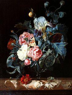 Willem van Aelst (Виллем ван Алст, 1625-1683, Dutch) - Голландский натюрморт…
