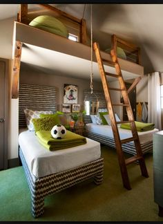Best design for kids room. A place to go and hide away with a book.