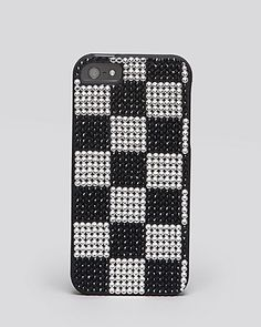 Exclusive: Jimmy Crystal iPhone 5 Case - Checkerboard | Bloomingdale's