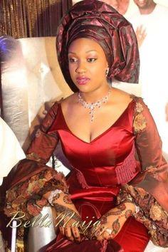 african brides | Sherif Shagaya  Maryam Tukur Wedding - Mother's Night - BELLA NAIJA ...