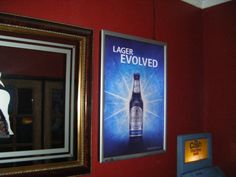 Guinness Black Lager in Image Zoo Glowboxes. We deliver glowbox advertising campaigns throughout Northern Ireland, we welcome all enquiries! For all of your ambient advertising needs at fantastic rates- www.imagezoo.eu
