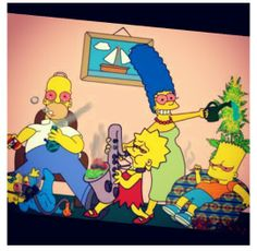 The Simpsons partaking in the Cannabis/Weed Humor! Stoner Humor, Weed Humor, The Simpsons, Funny Weed Pictures, Funny Pics, Rauch Fotografie, Marijuana Art, Medical Marijuana, Cannabis Oil