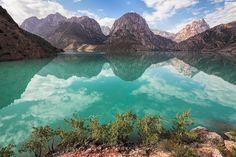 Iskanderkul (Lake Alexander) in Tajikistan | by damonlynch