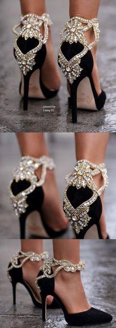 Emmy DE * Aminah Abdul Jillil crystal pumps