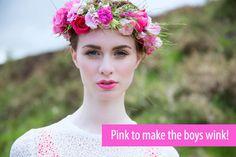 Pink Lipstick Bridal Style-01