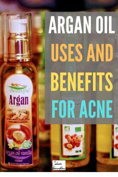Tired of wearing makeup every single day to hide acne? Want to get closer to having completely clear skin? Argan oil is great for healing acne-prone skin, getting rid of dark spots, and even reducing wrinkles. Natural Facial, Natural Skin Care, Natural Beauty, Argan Oil Face, Argan Oil Benefits, Acne Dark Spots, Greasy Skin, Oil Uses, Skin Care Treatments