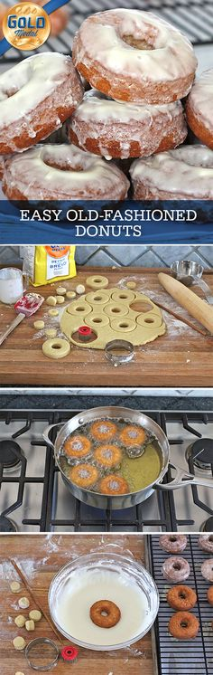 Amazing homemade old-fashioned donuts that take 20 minutes from start to bite and taste as great, if not greater, than the ones you get from the donut shop!