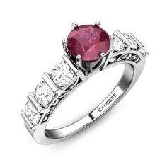 Fashion Aura Ruby Ring