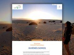 Creación del sitio web de No Limit Fuerteventura, espacio de experiencias únicas para personas con Parkinson llenas de organizadas actividades para familias. Advertising Agency, Families, Design Web, Vacations, Space, Activities, People, Travel