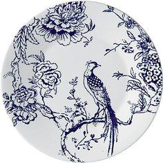 JASPER CONRAN @ WEDGWOOD Chinoiserie Blue 21cm plate