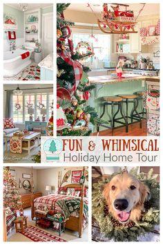 Cabin Christmas, Christmas Kitchen, Rustic Christmas, Christmas Lights, Christmas Holidays, Christmas Houses, Celebrating Christmas, Xmas, Vintage Sled