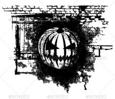 Halloween Pumpkin  #GraphicRiver         Vector scary Halloween grunge Pumpkin with bricks     Created: 12October12 GraphicsFilesIncluded: VectorEPS Layered: No MinimumAdobeCSVersion: CS Tags: banner #black #danger #design #evil #face #fear #graffiti #graphic #grunge #halloween #head #horror #icon #illustration #pattern #pumpkin #punk #rap #rock #scare #sign #spooky #subculture #symbol #tattoo #vector #warning