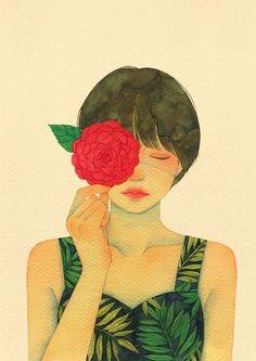 12번째 이미지 Sad Art, Anime Art Girl, Cute Illustration, Portrait Art, Watercolor Paintings, Watercolors, Painting & Drawing, Art Reference, Graphic Art