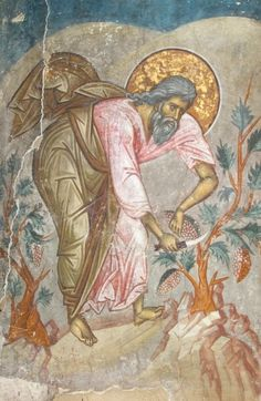 3 posts published by Synaxis during March 2012 Fresco, Byzantine Icons, Byzantine Art, Religious Pictures, Religious Icons, Mural Painting, Mural Art, Tempera, Christian Artwork