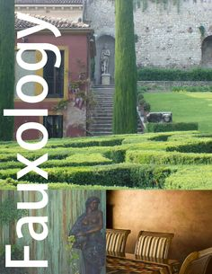 Fauxology is the blog that studies the love affair between extraordinary Decorative Painting and inspired Interior Design.