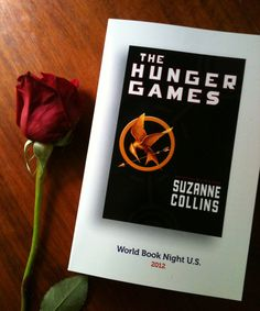 I'm a giver for World Book Night USA! I'll be passing out copies of The Hunger Games on Monday, April 23rd!