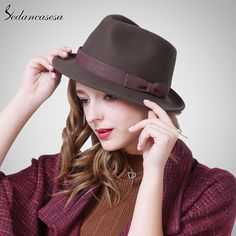 England Autumn Winter Male Female Hat Christmas Gift Korean retro jazz hat Women with Wide Brim woolen hat FM093003