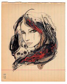 Rose  Original Edit Evening artwork by editevening on Etsy, $125.00