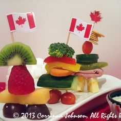 Need food ideas for a Canada-themed party? Make these creative, delicious, and cute Inukshuk appetizers that are inspired by the stone monuments built by the Inuit people! Canadian Things, Canadian Food, Canadian Recipes, Canada Celebrations, Canada Day Fireworks, Canada Day Crafts, Canada Day Party, All About Canada, Summer Deserts