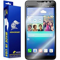 ArmorSuit MilitaryShield Huawei Ascend Mate 2 Screen Protector (Case Friendly) Anti-Bubble HD Shield w/ Lifetime Replacements ** Want additional info? Click on the image. (This is an affiliate link) #ScreenProtectors