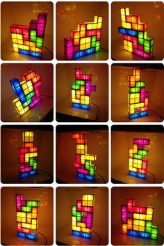 INFMETRY:: Tetris Constructible Desk Lamp Light