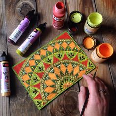Mandala Art Lesson, Mandala Artwork, Mandala Drawing, Mandala Painting, Dot Painting, Painting Patterns, Fabric Painting, Buddha Kunst, Buddha Art