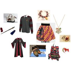 """""""Just Another Day at Hogwarts..."""" by demigod12 on Polyvore"""