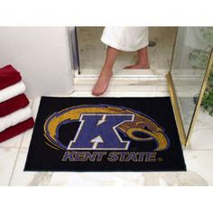 Kent Golden Flashes NCAA All-Star Floor Mat (34x45)