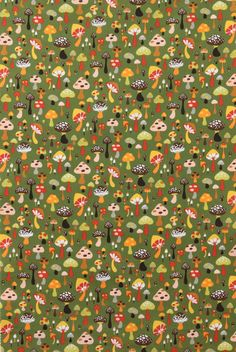 Willow shroom by Alexander Henry Fabrics.