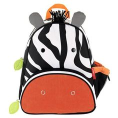 I never get tired of these adorable SkipHop backpacks, this year they've added this sweet zebra and a cute giraffe - perfect for preschool or kinder
