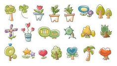 Plant Mini Cartoon Temporary Tattoo Sticker  #tattoo #sticker #symbol #letter #stylish #flower #temporary #animal #boho #indian