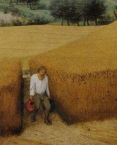 .:. Detail from The Harvesters, Pieter Bruegel the Elder