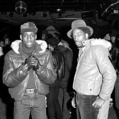 Old school culture in the 70s and 80s | Kool Moe Dee & Grandmaster Caz in classic old school leather