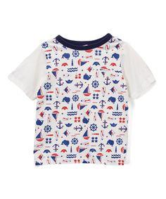 Off-White Nautical Tee - Infant, Toddler & Boys