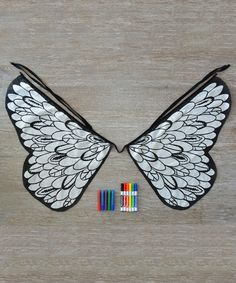 This Design Your Own Bird Wings Set is perfect! #zulilyfinds