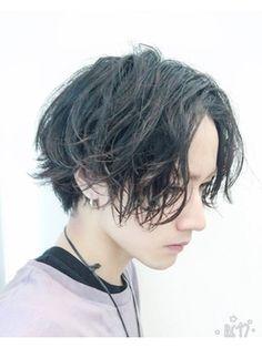 アクシー 渋谷店(AXY) cut3600円 グランジ ミディアム スマートマッシュ Hair Reference, Face Hair, Hair 2018, Hair Designs, Short Curly Hair, Short Hair Cuts, Hair Inspo, Hair Inspiration, Androgynous Haircut