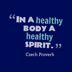 In a healthy body a healthy spirit. Tech Quotes, Woodworking Enthusiasts, Healthy Breakfast Recipes, Healthy Meals, Healthy Food, Healthy Recipes, Health Matters, Proverbs, Quotes To Live By