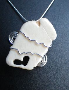 Amazingly Cool Natural Shell with Heart by silversunstudiobiz, $70.00